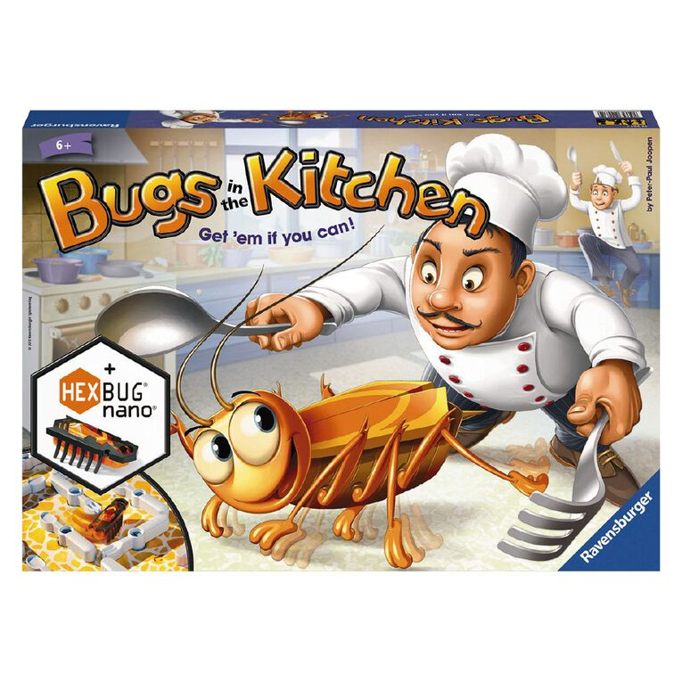 Ravensburger Bugs in the Kitchen Game, , hi-res