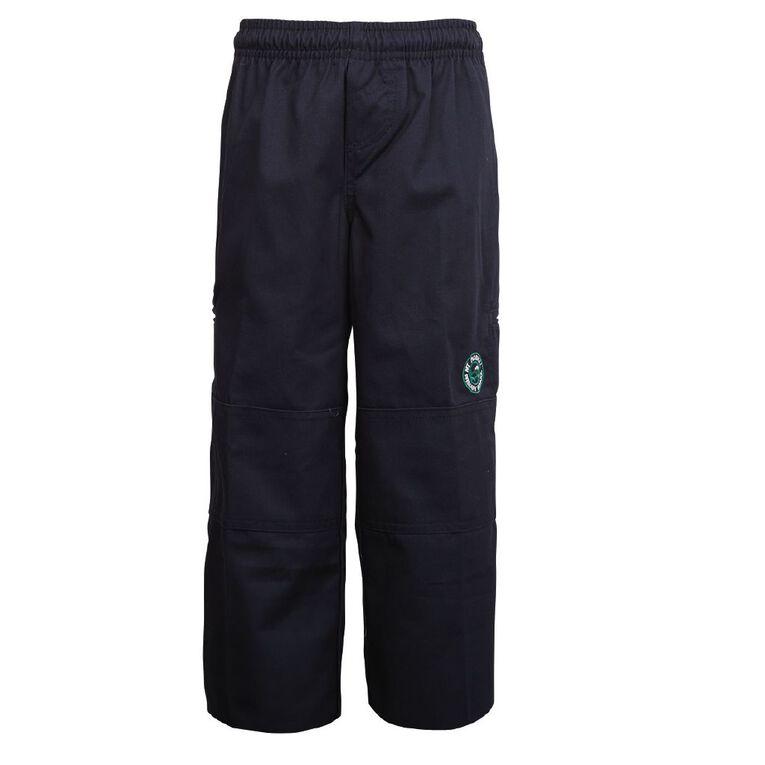 Schooltex Mount Roskill Primary School Trousers, Navy, hi-res