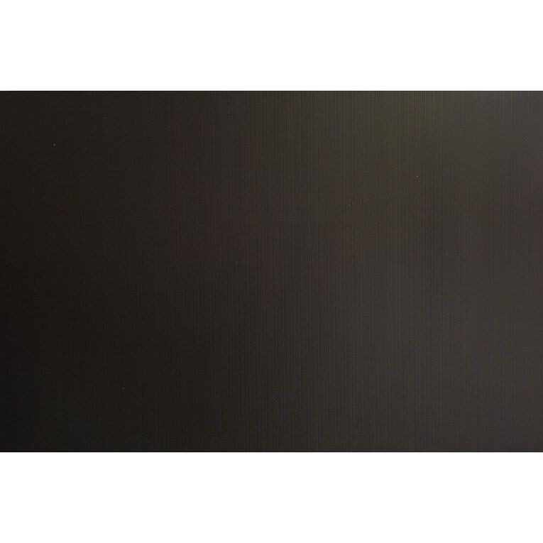 Plasti-Flute Sheet 600mm x 900mm Black, , hi-res
