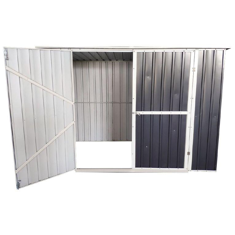 Kiwi Garden Steel Garden Shed 240 x 128 x 171cm, , hi-res