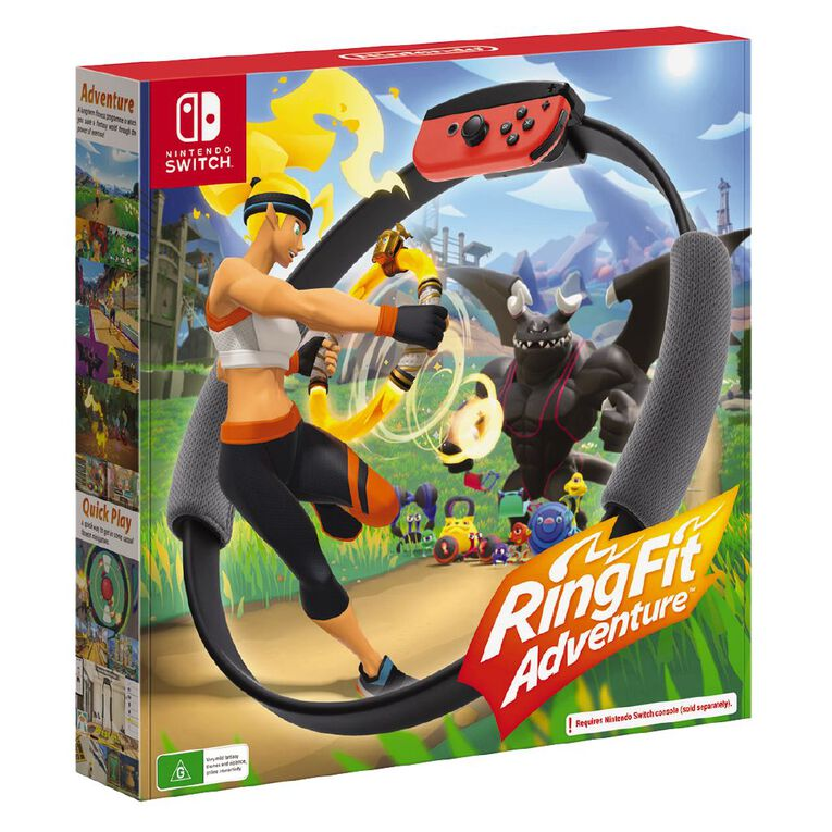 Nintendo Switch Ring Fit Adventure, , hi-res