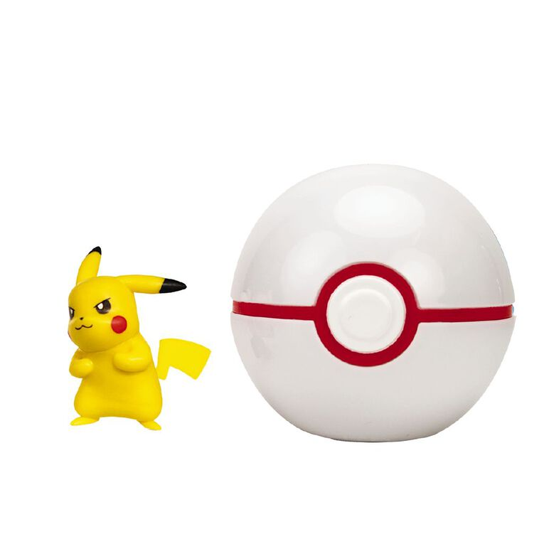 Pokemon Clip and Go Ball Assorted, , hi-res