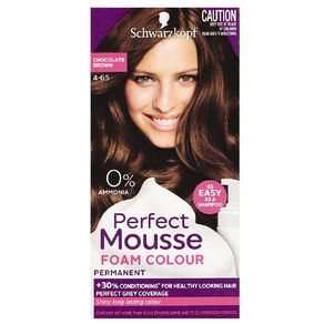 Schwarzkopf Perfect Mousse Hair Colour 4-65 Chocolate Brown