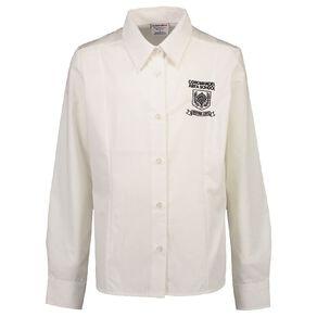 Schooltex Coromandel Area School Long Sleeve Blouse