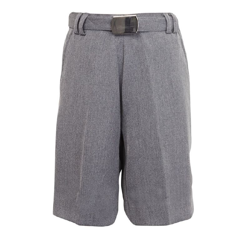 Schooltex Boys' Winter School Shorts, New Grey, hi-res