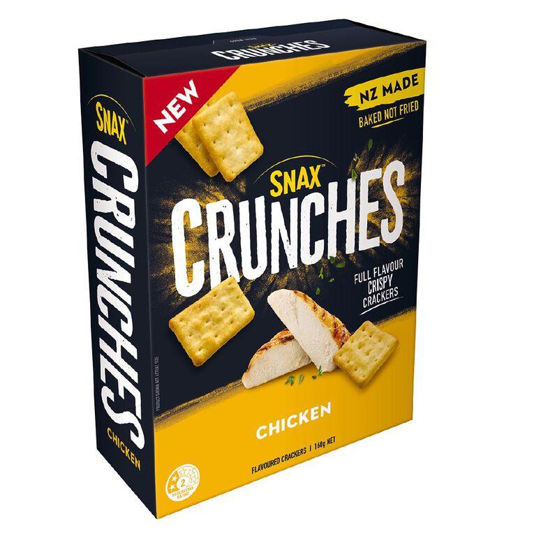 Snax Crunches Chicken 160g, , hi-res