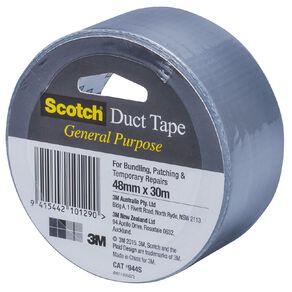 Scotch General Purpose Duct Tape 48mm x 30m Silver
