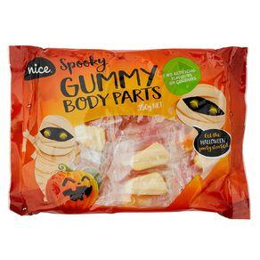 Nice Spooky Gummy Body Parts 350g