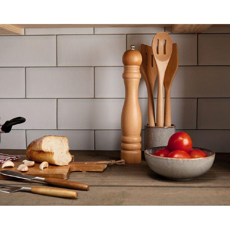 Living & Co Wooden Strainer Spoon, , hi-res