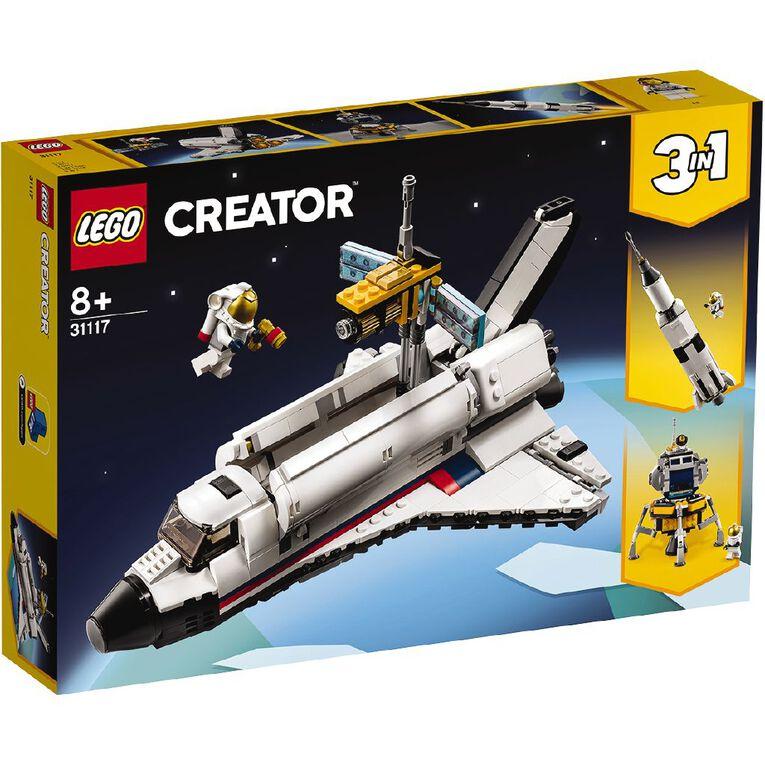 LEGO Creator Space Shuttle Adventure 31117, , hi-res