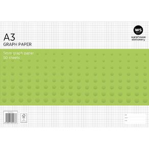 WS Graph Pad 5mm 50L A3