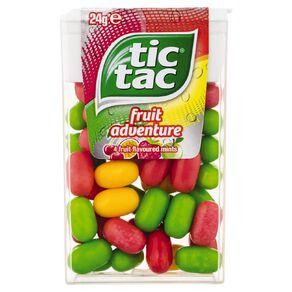 Tic Tac Fruit Adventure 24g