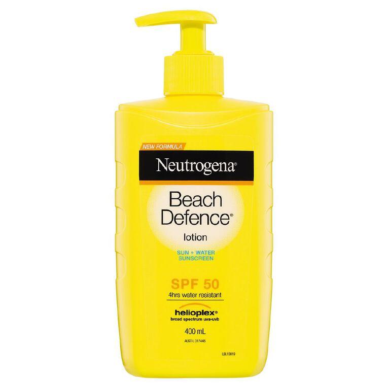 Neutrogena Beach Defence Lotion SPF50, , hi-res