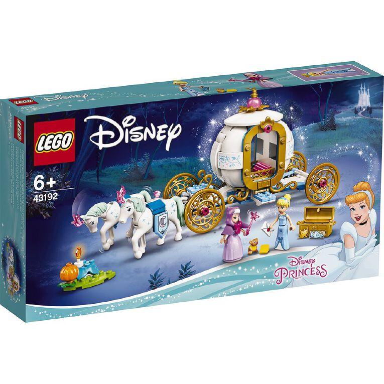 LEGO Disney Princess Cinderella's Royal Carriage 43192, , hi-res