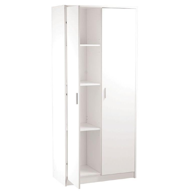 Living & Co Broom Cabinet 2 Door, , hi-res
