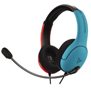 PDP Nintendo Switch LVL40 Wired Stereo Headset - Blue/Red