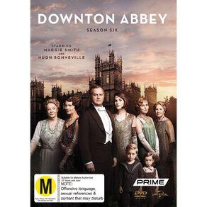 Downton Abbey Season 6 DVD 3Disc