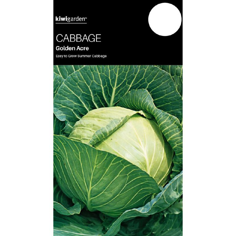 Kiwi Garden Cabbage Golden Acre, , hi-res
