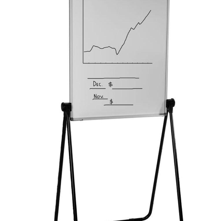 Quartet Magnetic Flipchart Presenter White, , hi-res