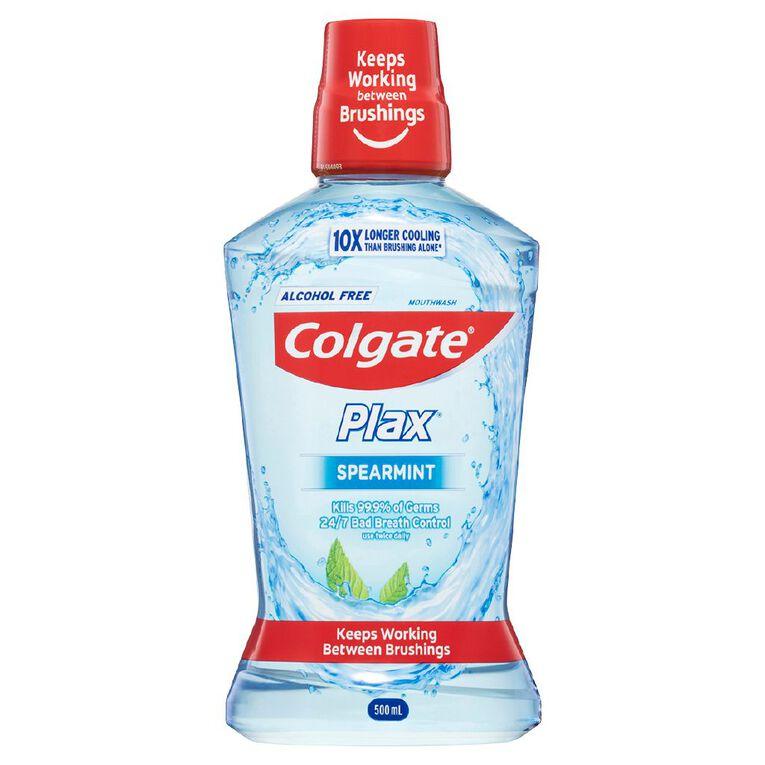 Colgate Plax Spearmint Mouth Rinse 500ml, , hi-res