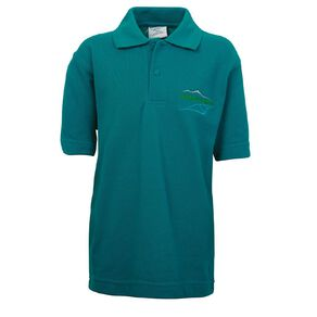 Schooltex Ashley School New Short Sleeve Polo with Embroidery