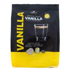 Simply Swiss Baristas Choice Coffee Capsules Vanilla 10 Pack