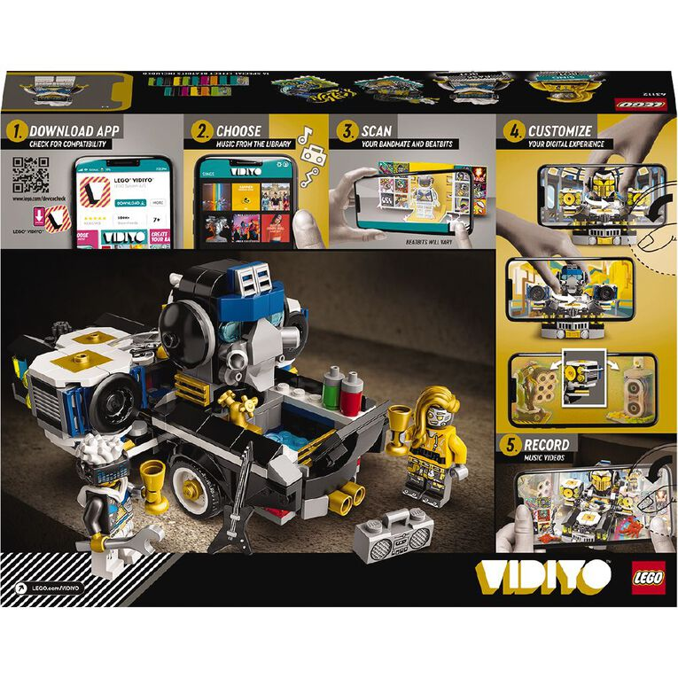 LEGO VIDIYO Robo HipHop Car 43112, , hi-res