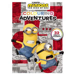 Minions #2 Colouring Adventures