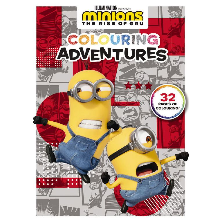 Minions #2 Colouring Adventures, , hi-res