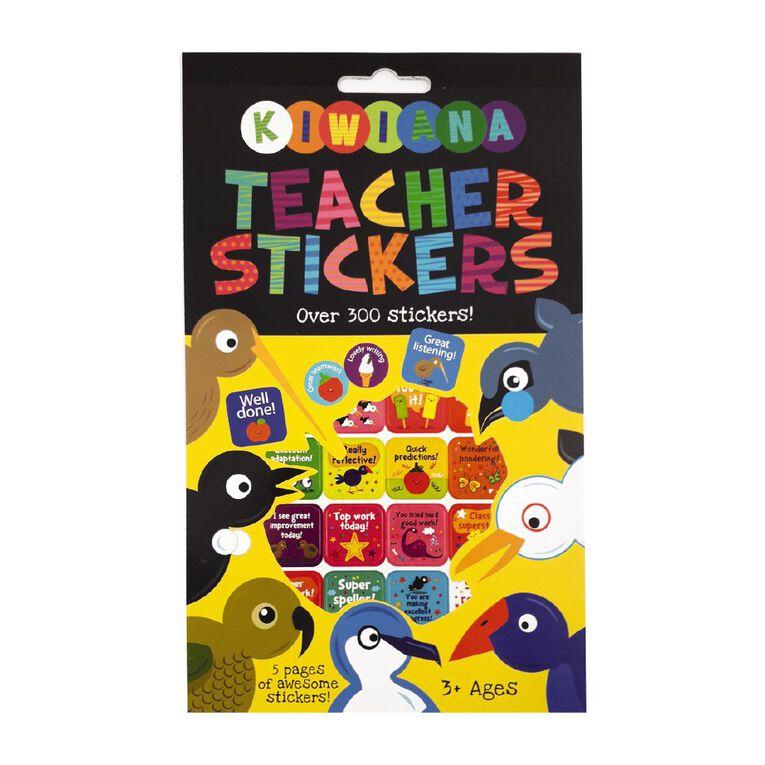 Kiwiana Sticker Pad Teacher Stickers NZ, , hi-res