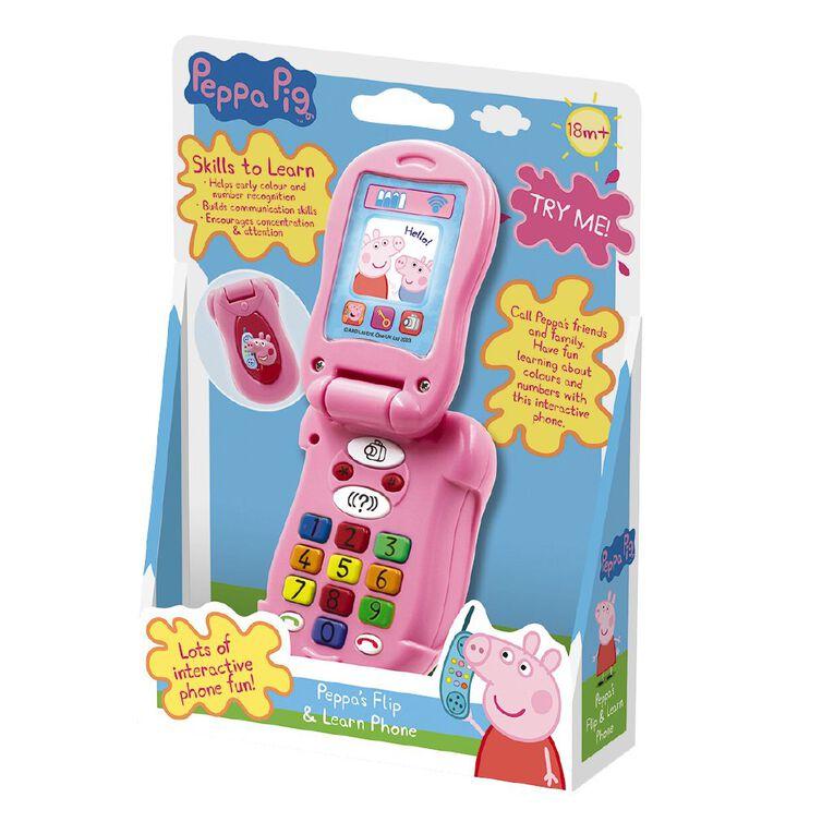 Peppa Pig Flip and Learn Phone, , hi-res