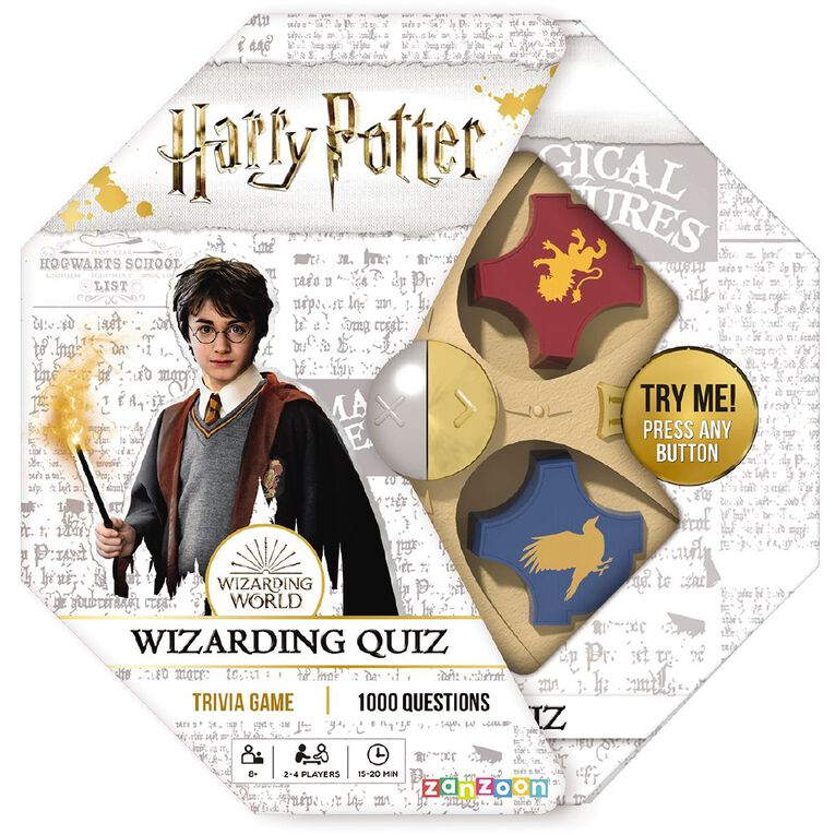 Harry Potter Electronic Wizard Quiz Trivia Game, , hi-res