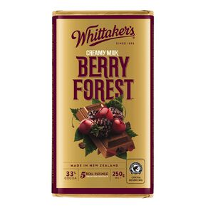 Whittaker's Berry Forest Block 250g