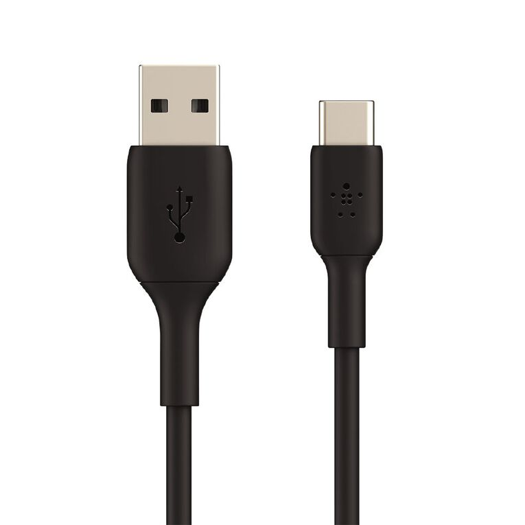 Belkin BoostCharge USB-A to USB-C Cable 3M Black, , hi-res