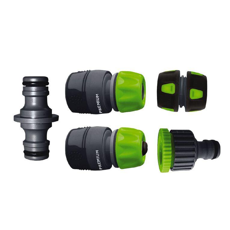 Kiwi Garden TPR Hose Fitting Connector Set 5 Pack, , hi-res