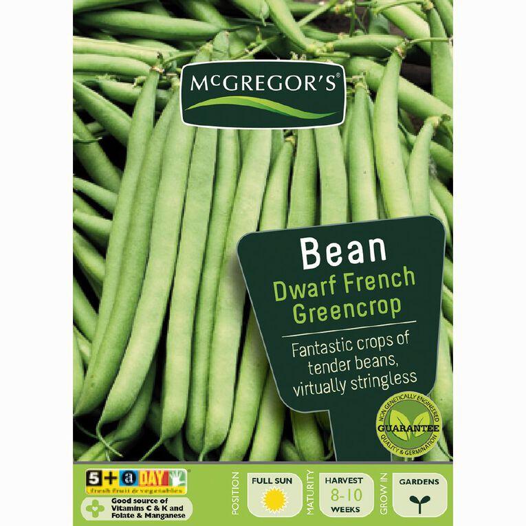 McGregor's Greencrop French Dwarf Beans Vegetable Seeds, , hi-res