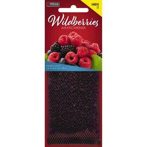 Wildcat Auto Air Freshener Hide It Wildberry
