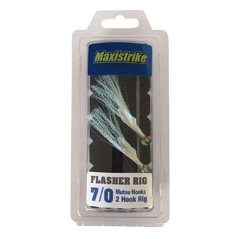 Maxistrike Flasher Rig - Mutsu Hooks 7/0, , hi-res image number null