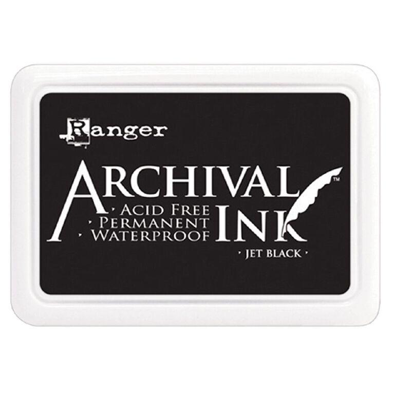 Ranger Stamp Pad Jet Black, , hi-res