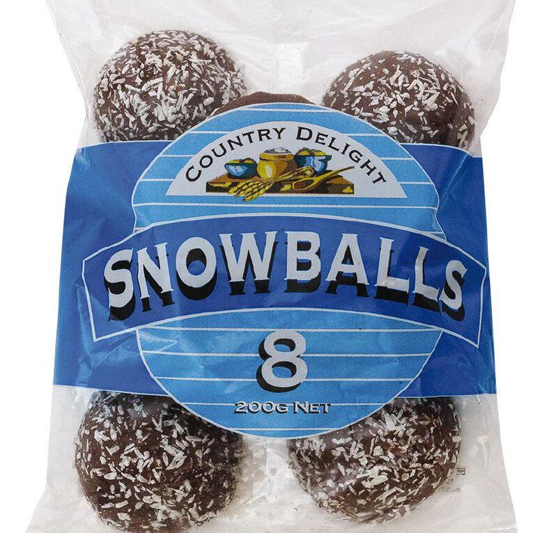 Country Delight Snowballs 200g, , hi-res