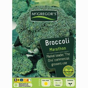 McGregor's Marathon Hybrid Broccoli Vegetable Seeds