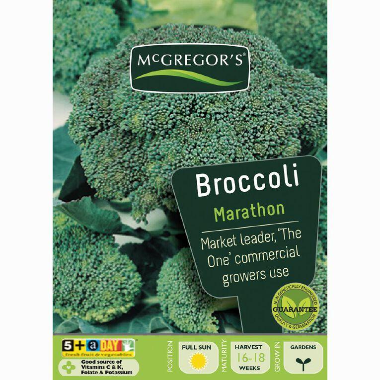 McGregor's Marathon Hybrid Broccoli Vegetable Seeds, , hi-res