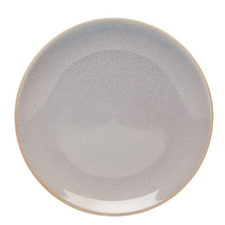 Living & Co Dune Side Plate Grey, , hi-res