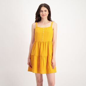 H&H Women's Tiered Mini Dress