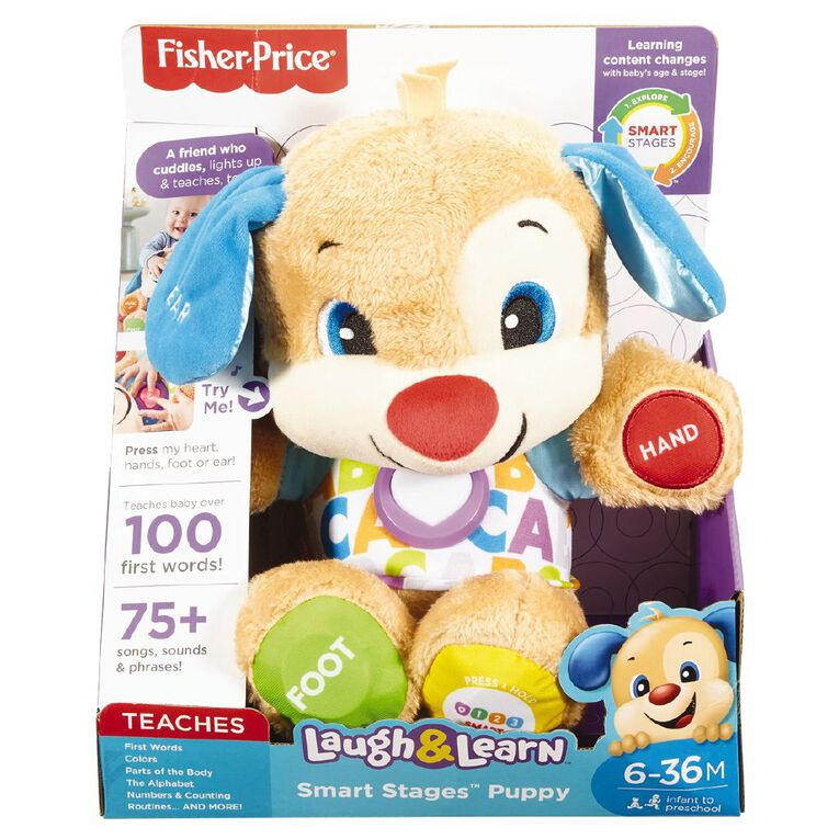 Fisher-Price Laugh & Learn Smart Stage Puppy, , hi-res