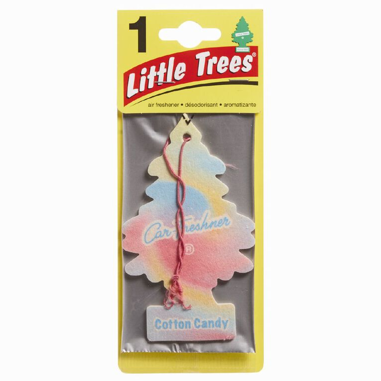 Little Trees Hanging Car Air Freshener Cotton Candy Scent, , hi-res