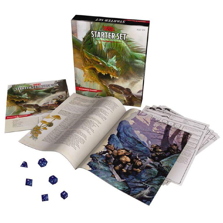 Dungeons and Dragons Starter Set, , hi-res
