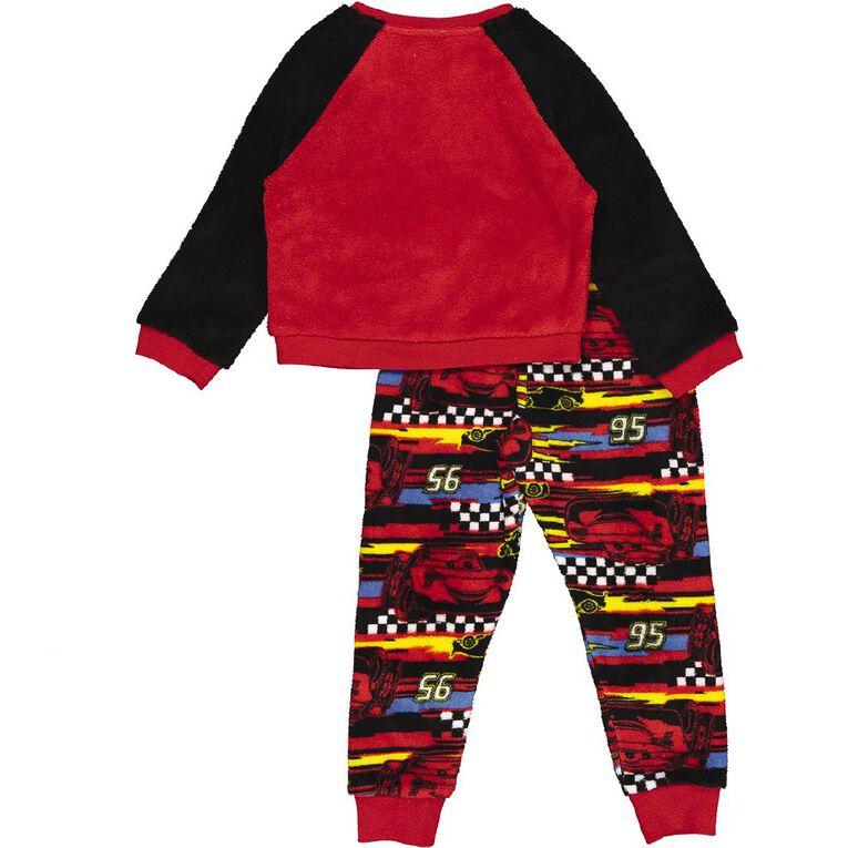 Cars H&H Kids' Long Sleeve Pyjamas, Red, hi-res