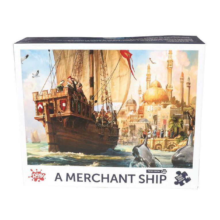 Play Studio Scenic 1000 Piece Puzzle Assorted, , hi-res image number null