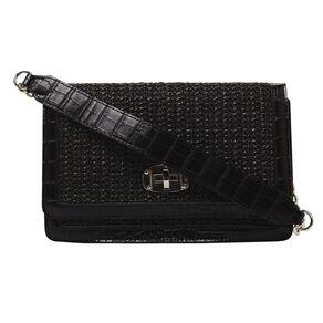 H&H Women's Woven Party Handbag